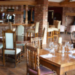 The dining area at The Fat Abbot